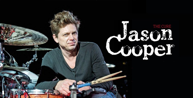 Interview de Jason Cooper pour Rhythm Magazine