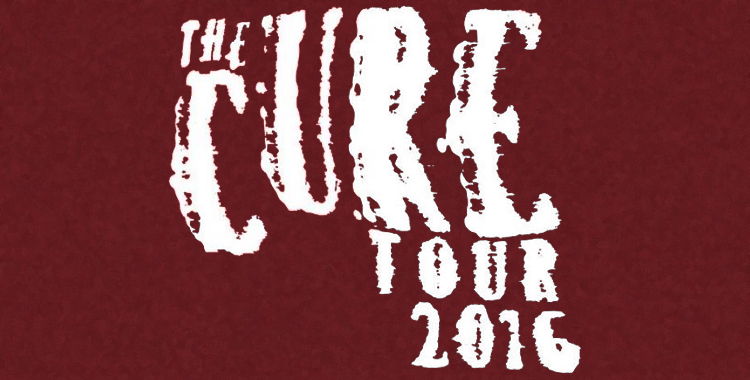 The Cure European Tour 2016