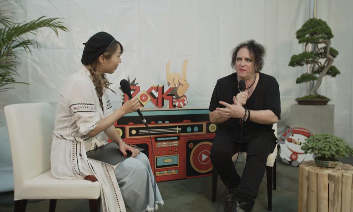 Robert Smith Fuji Rock Festival Interview